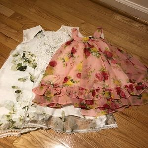 Other - Two summer girl dress ( 2/3T and 5/6yrs)